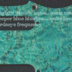 detail image aqua birdseye strat scratchplate 911c