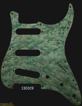 aqua strat maple pickguard 319