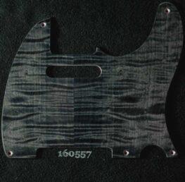 black figured tele maple pickguard 557