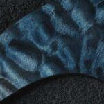 detail image blue quilt tele scratchplate 125c