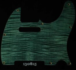 blue tele figured maple pickguard 815