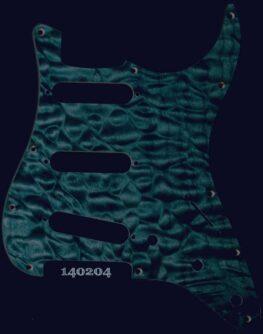 bluegreen quilt maple pickguard 204