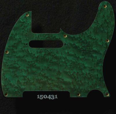 emerald tele maple pickguard 431