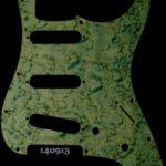 green birdseye strat maple pickguard 913