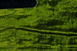 detail image green curly tele pickguard 126a