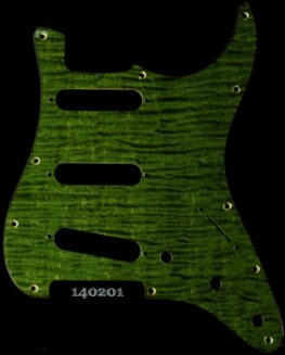 green figured strat maple pickguard 201