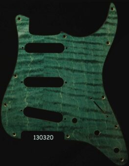 green strat maple pickguard 320