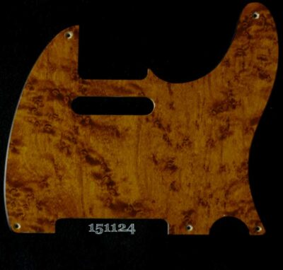 mahogany be tele maple pickguard 124