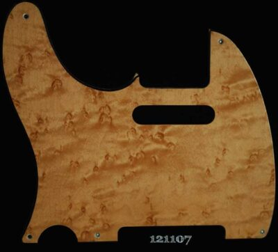 natural tele lh maple pickguard 107