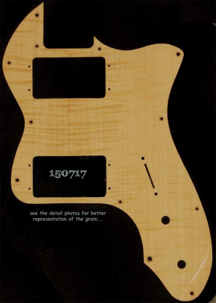 natural thinline tele