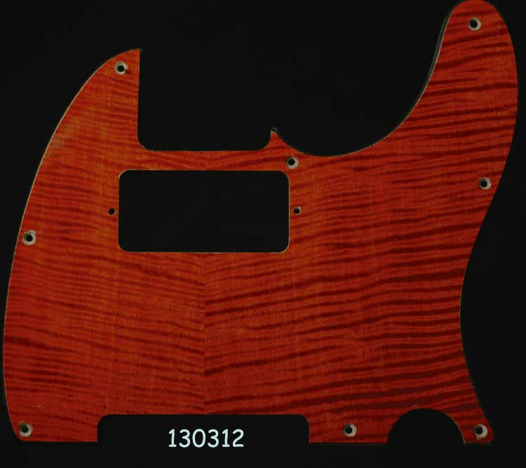 orange tele maple pickguard 312