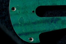 detail image strat aqua figured pickguard 901a