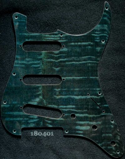 emerald silky oak pickguard