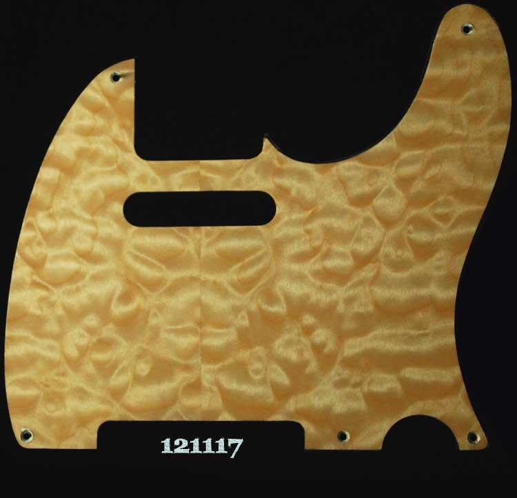 tele natural maple pickguard 117