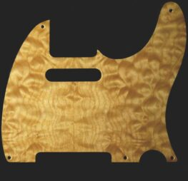 tele natural maple pickguard 118