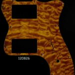 thinline honey quilt maple pickguard 826