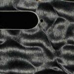 detail image trans black tele thinline scratchplate maple pickguard 837