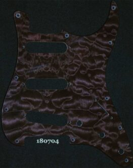 deep purple modern strat maple pickguard