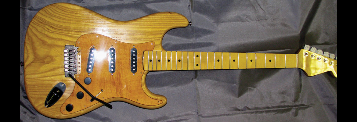 weathered sycampre maple pickguard