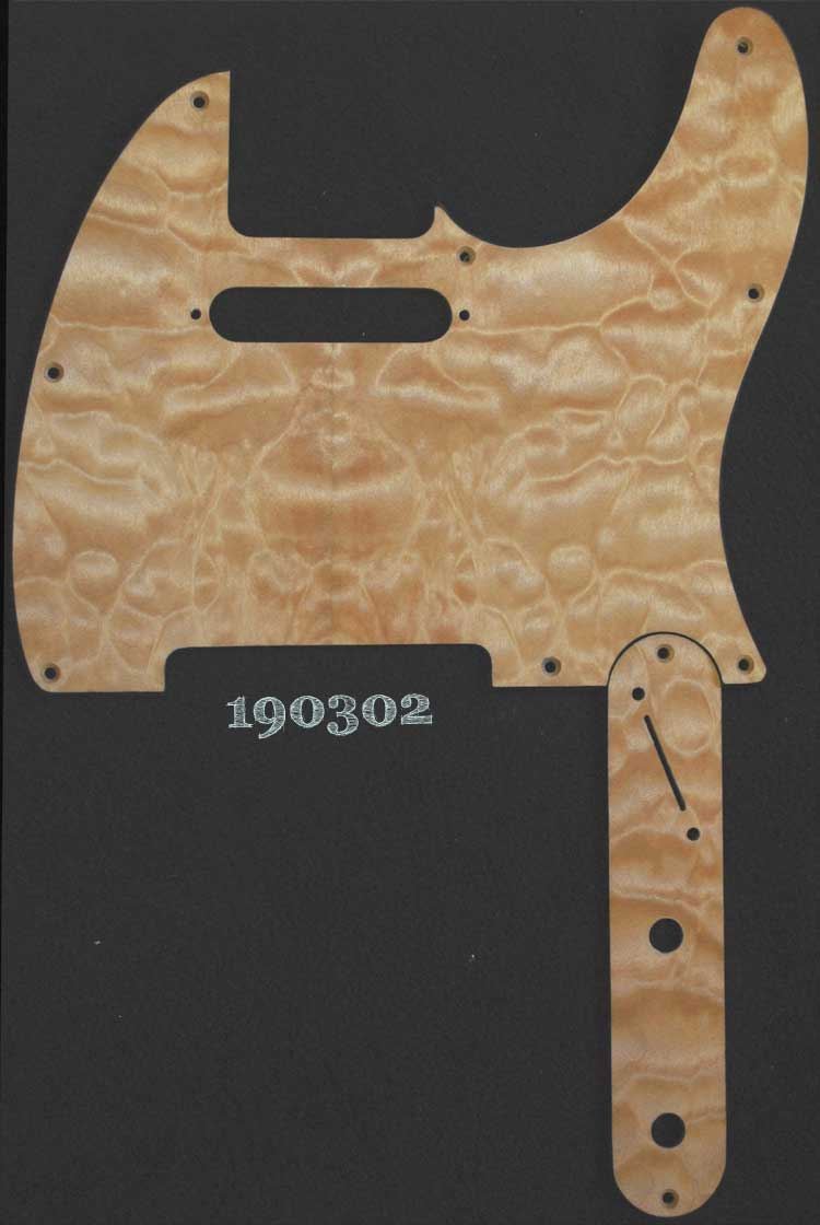 slant switch maple pickguard set 302