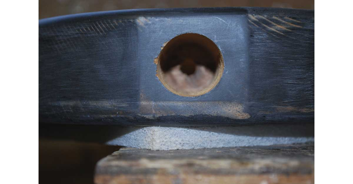 telecaster jackplug hole