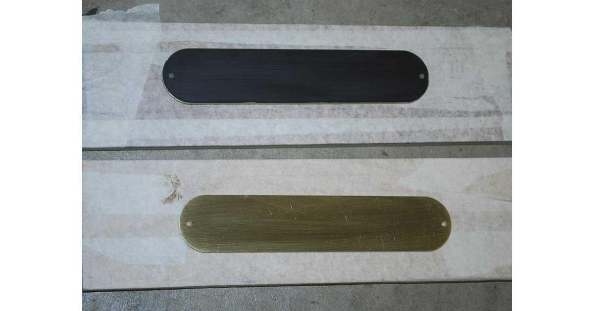 brass tele control plates