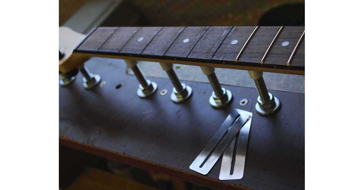 fret removal part done