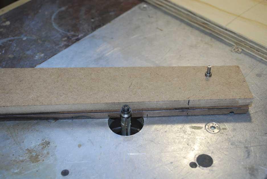 routing fingerboard shape