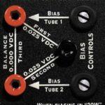 detail of bias-points THD Flexi-50