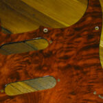 Quilted Mahogany pickguard